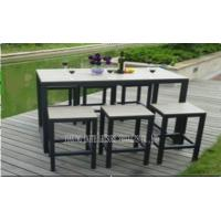 Wholesale Bar Height Table And Chairs , Pool Furniture Sets For Dining / Conversation from china suppliers