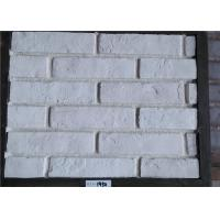 Wholesale White Faux Exterior Brick Decoration Thickness 10-15mm Solid Surface from china suppliers