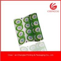 Wholesale Food Grade PP Plastic Cup Sealing Film For Juice / Jelly / Yoghurt from china suppliers