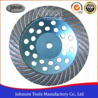 """Wholesale 7"""" Turbo Cup Wheel Diamond Grinding Disc For Concrete and Stone Grinding from china suppliers"""