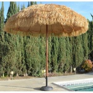 Wholesale Tiki-Thatched-Hula-Beach-Umbrella-8-Feet-Wide-Sun-Shade-Market-Business-Patio  Tiki-Thatc from china suppliers