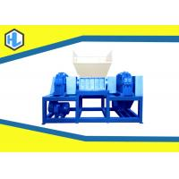 Wholesale Single / Twin Shaft Hospital Waste Shredder Low Speed Customized Blade Material from china suppliers