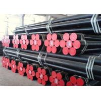 Wholesale Precision API 5L Grade B ERW Steel Pipe Line Tube , Low Pressure Liquid Delivery Pipe from china suppliers