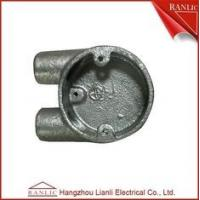 Buy cheap Circular Malleable Iron Four Way Junction Box / Electrical Terminal Box from wholesalers