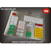 Wholesale 80 Colorful Resin Buttons Metallic Ruggedized Keyboard Vandal resistant and dust proof from china suppliers
