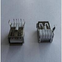 Wholesale USB A Female Angle Type DIP Connector USB from china suppliers