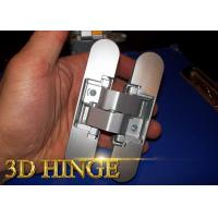 Wholesale 180 Degree Adjustable Door Hinges 3d Adjustable Door Hinge For Commercial Wood Frames from china suppliers