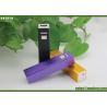 Buy cheap New Design Lipstick Power Bank , Portable Power Bank 2600mAh black purple from wholesalers