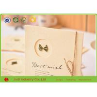 Wholesale Luxury 3D Holiday Greeting Cards Offset Printing Wedding Invitation Cards from china suppliers