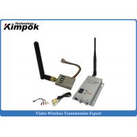 Wholesale 2500m Long Distance Wireless Video Sender Mini 1.2GHz Wireless Transmitter and Receiver from china suppliers