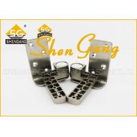 Wholesale 90 Degree Stainless Steel Pivot Door Hinges / Heavy Duty Offset Hinges , 131*25mm(L*W) from china suppliers