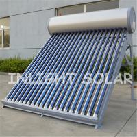Quality 150L Thermosyphon Vacuum Tube Solar Water Heater High Efficiency Heating Water for sale