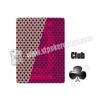 Wholesale 2 Jumbo Index Invisible Playing Cards Plastic Jumbo Playing Cards Cheating Tools from china suppliers