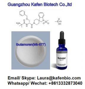 Wholesale Legit SARM Steroids Mk2866/Mk677/Gw501516/S4/Yk11/Lgd4033/Sr9009/Rad140 from china suppliers