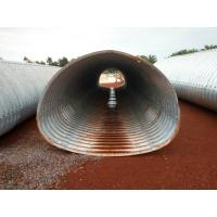 Wholesale 3.7*2.44m corrugated metal culvert pipe pipe-arch section from china suppliers