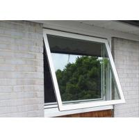 Wholesale 1.6mm profile thickness white aluminum awning windows for commercial building from china suppliers