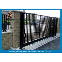 Wholesale Wrought Iron Automatic Security Gates Commercial For Living Quarter XLF-03 from china suppliers