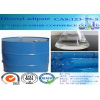 Quality Dioctyl Adipate Plasticizer CAS 123-79-5 Light Yellow C22H42O4 Cold Resistant for sale