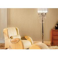 Quality 3D Effect Concise Style Non Woven Wallpaper Geometric Printing For Living Room for sale