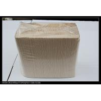 Wholesale Eco Friendly cola / cocktail party Brown Kraft Paper Tissue support low fold from china suppliers