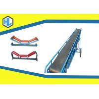 Wholesale 50 - 140m³/H Throughout Straight Belt Conveyor Machine , Material Handling Conveyors from china suppliers
