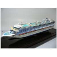Buy cheap Exquisite Emerald Princess Cruise Ship Models For Historical Research from wholesalers