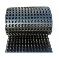 Wholesale Dimpled Sheet Drainage Membrane , Basement Waterproofing Plastic Sheeting from china suppliers