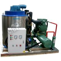 Quality Stainless Steel Anti Corrosion Seawater Flake Ice Machine For Fishing Vessel for sale