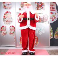 Wholesale Electric Christmas old man music Santa Claus 160cm Outdoor Christmas Decoration from china suppliers