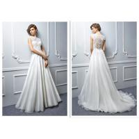 Ivory Vintage A Line Style Wedding Dresses For Attractive Women And Girls