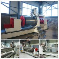 Quality 40RPM Max Johnson Wedge Wire Screen Welding Machine E60 CNC Control System for sale