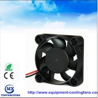Wholesale Portable plastic small cooling fan , dc axial compact fan 40mm x 40mm x 15mm from china suppliers