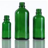 Wholesale Printing Green Glass Dropper Bottles , Medical Glass 20ml / 30ml Dropper Bottle from china suppliers