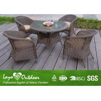 Wholesale Durable 5 Piece Patio Set Outdoor Dining Furniture With Flame Retardant Material from china suppliers