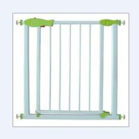 Wholesale Pressure Mounted White Metal Baby Gates / Kids Safety Gate Expandable from china suppliers