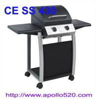 Wholesale Portable Gas Grill with 2 folding tables from china suppliers