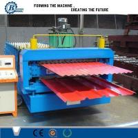 Wholesale High Efficiency Double Layer Roll Forming Machine With Automatic PLC Control System from china suppliers