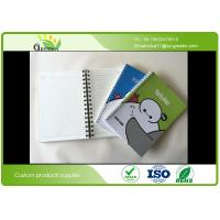 Wholesale CMYK Printing Cute Spiral Notebooks , Film Lamination Exercise A4 Spiral Notebook from china suppliers