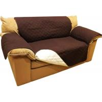Buy cheap Brown Chocolate Ultrasonic Quited All Size Waterproof Sofa Cover Tpu Lamination from wholesalers