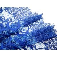 Wholesale New arrival 100% cotton guipure lace fabric wholesale from china suppliers