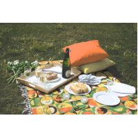 Wholesale NO152412 100 Polyester Table Cloths , Printed Tablecloths Different Colored from china suppliers