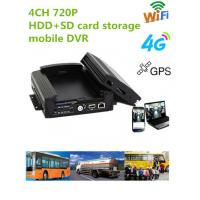 Wholesale 720P Resolution Full HD Vehicle DVR With 3 / 4G GPS WIFI G- Sensor , 10V - 36V Power from china suppliers