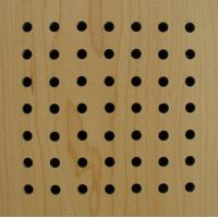 Wholesale Wooden  Acoustic Panel(perforated) from china suppliers