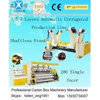 Wholesale Carton Box Paper Making Machine 180KW Corrugated Paper Sheet Cutting Machine from china suppliers