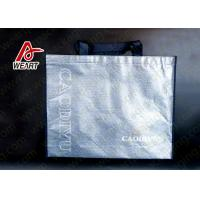 Wholesale Silver Foil Design Custom Printed Non Woven Carry Bags For Shopping from china suppliers