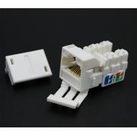 Wholesale Network RJ45 Keystone Jack Cat5e Cat6 Information Outlets Pass Fluke Test from china suppliers