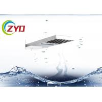 Wholesale 230x530mm Solid Square Ultra Thin Brushed 304 Stainless Steel Waterfall Shower Sprinkler  Head from china suppliers