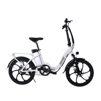 Buy cheap 36V 500W Rear Drive 20 Inch Folding Electric Bike from wholesalers