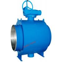 Wholesale BW Flange Fully Welded Ball Valve Gear Operation Long Working Lifespan from china suppliers