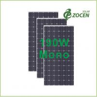 Wholesale High Performance 190W Anti Reflective Coating Solar Panels / Modules from china suppliers